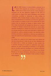 La guerre civile espagnole ; du réel au légendaire (1936-2006) - 4ème de couverture - Format classique