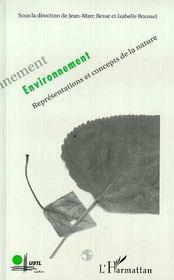 Environnement ; Representations Et Concepts De La Nature - Intérieur - Format classique
