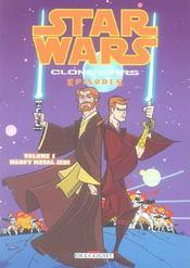 Star wars - clone wars episodes t.1 ; heavy metal jedi - Intérieur - Format classique