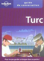 Guide De Conversation ; Turc - Intérieur - Format classique