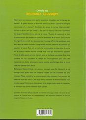 L'Année Des Animaux Sauvages - 4ème de couverture - Format classique