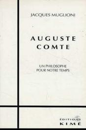 Auguste Comte - Couverture - Format classique