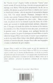Tustou Et Marie - 4ème de couverture - Format classique