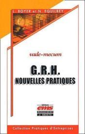G.R.H. nouvelles pratiques - Couverture - Format classique