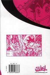 Yaiba t.9 - 4ème de couverture - Format classique