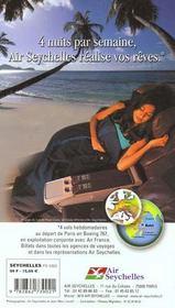 Seychelles 2000, Le Petit Fute - 4ème de couverture - Format classique