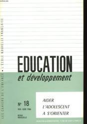 Education Et Developpement - N°18 - Couverture - Format classique