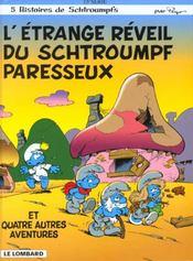 Les Schtroumpfs t.15 ; l'étrange réveil du Schtroumpf paresseux - Intérieur - Format classique