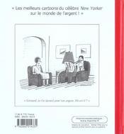 Le New Yorker ; Le Monde De L'Argent - 4ème de couverture - Format classique