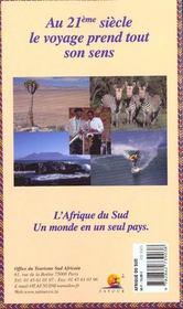 Le Petit Fute ; Afrique Du Sud 2000 - 4ème de couverture - Format classique