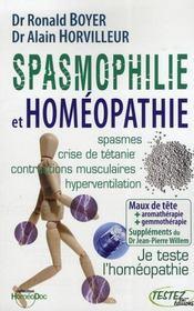 Spasmophilie et homéopathie - Intérieur - Format classique
