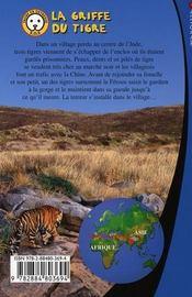 Paul Nature t.7 ; la griffe du tigre - 4ème de couverture - Format classique