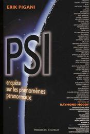 Psi - Enquete Sur Les Phenomenes Paranormaux - Intérieur - Format classique