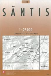 Santis - Couverture - Format classique