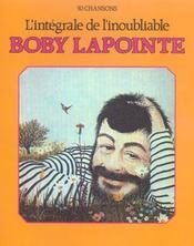 Boby Lapointe: L Integrale De L Inoubliable - Intérieur - Format classique