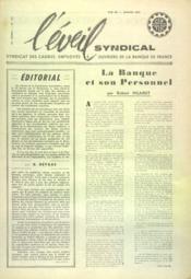 Eveil Syndical (L') N°132 du 01/01/1961 - Couverture - Format classique