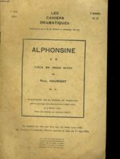 Les Cahiers Dramatiques - 2eme Annee - N°17 - Couverture - Format classique