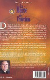 Magie De Protection - 4ème de couverture - Format classique
