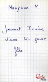 Journal intime d'une très jeune fille - Couverture - Format classique