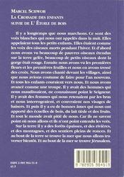 Croisade Des Enfants (La) - 4ème de couverture - Format classique