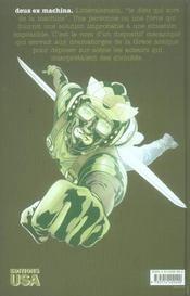 Ex Machina T.1 ; ; Les Cents Premiers Jours - 4ème de couverture - Format classique