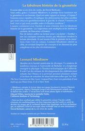 Dans L'Oeil Du Compas - 4ème de couverture - Format classique
