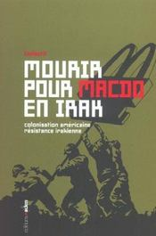 Mourir Pour Mac Do En Irak - Intérieur - Format classique