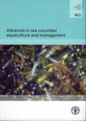 Advances in sea cucumber aquaculture in management - Couverture - Format classique