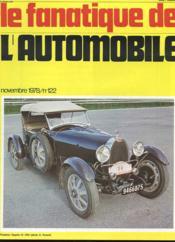 Le Fanatique De L'Automobile N°122 - Roadster Bugatrti 43 1929 - Couverture - Format classique