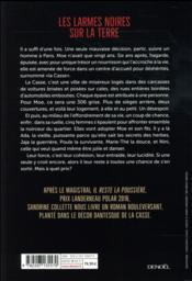 Les larmes noires sur la terre - 4ème de couverture - Format classique