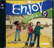 Vente livre :  ENJOY ENGLISH IN ; 5ème ; CD de la classe (édition 2007)  - Odile Martin-Cocher