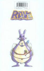 Rave t.28 - 4ème de couverture - Format classique