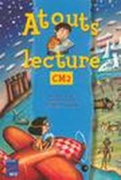 Atouts lecture ; CM2 ; manuel - Couverture - Format classique