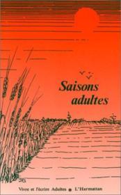 Saisons Adultes - Couverture - Format classique