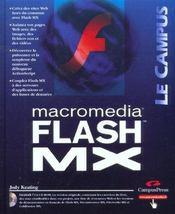 Macromedia Flash Mx - Intérieur - Format classique
