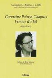Germaine poinso-chapuis, femme d'etat - Intérieur - Format classique