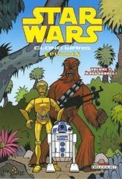 Star Wars - clone wars episodes t.4 ; à vos ordres ! - Couverture - Format classique