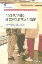 Adolescents et conduites à risque - Intérieur - Format classique
