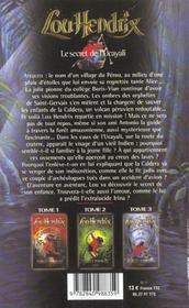 Lou hendrix t.3 ; le secret de l'ucayali - 4ème de couverture - Format classique