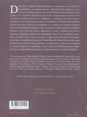 Cultures Des Juifs (Les) - Une Nouvelle Histoire - 4ème de couverture - Format classique