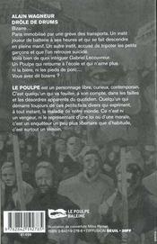 Drole De Drums - 4ème de couverture - Format classique