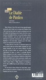 Le diable de pimlico - 4ème de couverture - Format classique