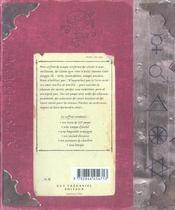 Coffret charmes et sortileges de sorciers - 4ème de couverture - Format classique