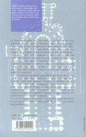 Le temple maçonnique à la lumière de la kabbale - 4ème de couverture - Format classique