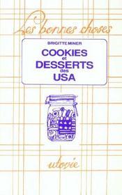 Cookies & Desserts Des Usa - Intérieur - Format classique