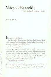 Miquel Barcelo - Intérieur - Format classique