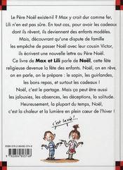 Max et Lili fêtent Noël en famille - 4ème de couverture - Format classique