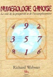 Numerologie Chinoise - Intérieur - Format classique