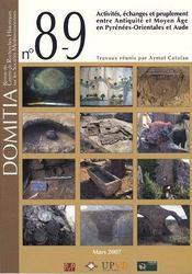 Domitia 7. Histoire De L Art Et Du Patrimoine Contemporains En Catalogne Du Nord Et Du Sud - Couverture - Format classique