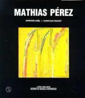 Mathias Pérez - Couverture - Format classique
